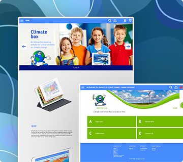 Climate Box Interactive Learning Platform