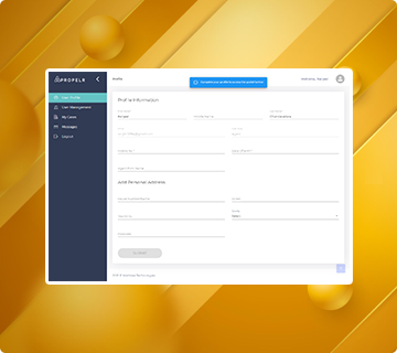 Propelr Web Application